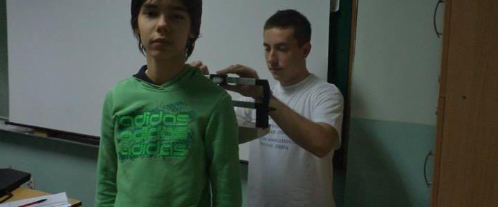 Kampanja udruženja protiv dijabetesa u svih 34 osnovnih škola grada Novog Sada 2013