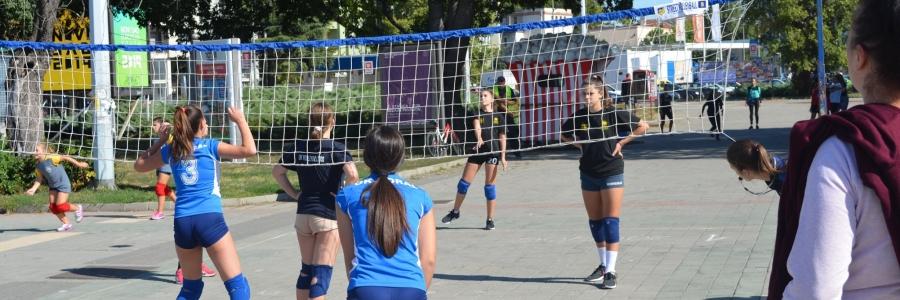 Street volleyball