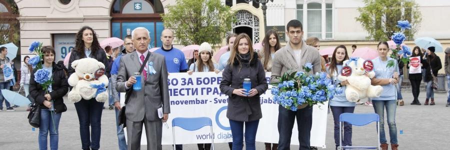 Obeležavanje 14og novembra svetskog dana protiv dijabetsa