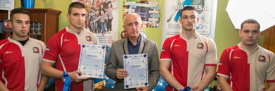 Potpisane Povelje - Ragbi klub Vojvodina